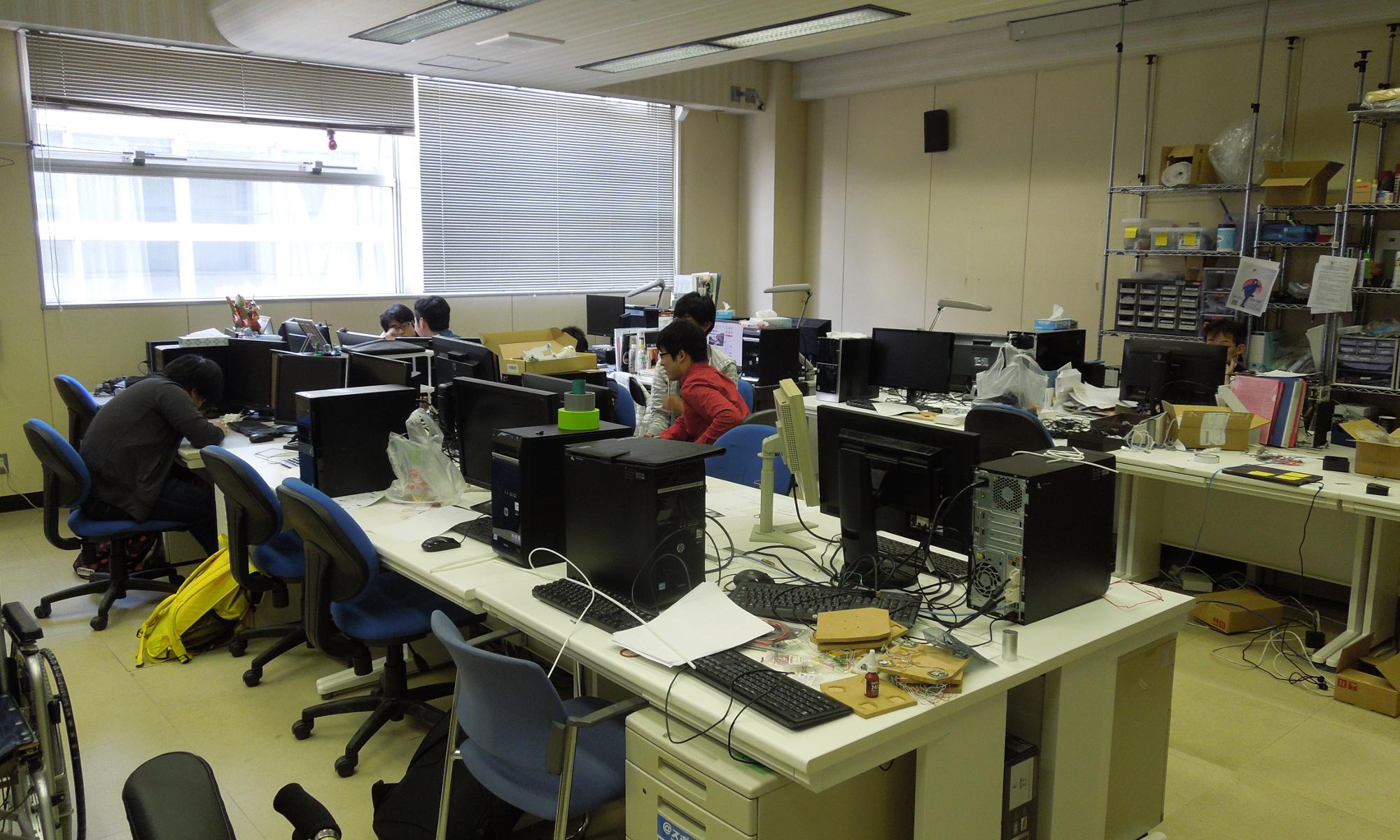 鳥山・浦島研究室
